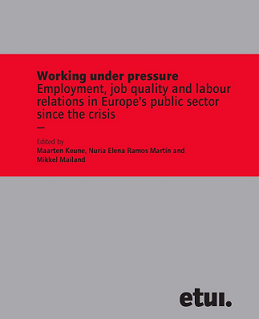 "CELSI's Marta Kahancová, Mária Sedláková and Monika Martišková contributed to a new ETUI book ""Working under pressure"""